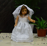 refer to pics  american girl dolls - Fashion Doll Clothes wedding dress fits for quot American Girl Dolls girl birthday present gift