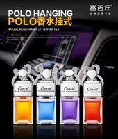 Wholesale 1pcs Caroiri High grade Car Hanging Perfume Pure Essential Oils Auto Perfume Car Air Freshener Perfume Fragrance Odors