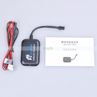 Cheap GPS Vehicle Tracker Motorcycles anti-theft system LBS+SMS GPRS Removing Vibration alarm