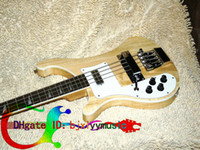 left handed bass guitar - Left Hand Bass guitar Rick Electric Bass Guitar IN Natural Strings Bass guitar From China Best Selling