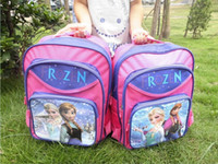 Wholesale DHL Children backpacks Frozen bags cartoon brand kids backpack Children s school bags for girls Student book bag
