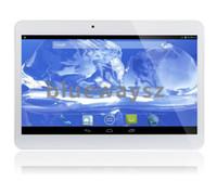 WCDMA 3G 10inch Téléphone tablette pc Appel 1G + 8G MTK6572 Dual Core 1.2Ghz Android 4.2 téléphone bluetooth appel GPS Wifi double caméra avec fente pour carte SIM
