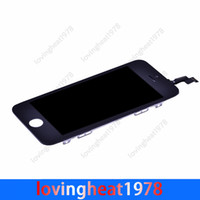 For Apple iPhone LCD Screen Panels  1 pcs free shipping B+++ quality LCD display replacement for iPhone 5S 5C LCD screen replacement with touch screen digitizer
