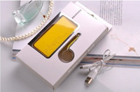 Wholesale Perfume Smelling Portable Battery power bank mAh Charger for iPad Tablets Lipstick Design with Retail Box biens