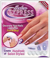 Cheap New Professional Salon Express Nail Art Stamping Kit