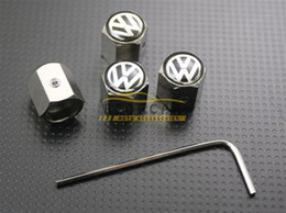 10x Volkswagen Wheel Tyre Tire Valve Stem Air Dust Covers Caps Anti-Theft Locking VW Free Shipping