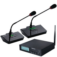 Wholesale Hot Sale Table Conference Microphone System Takstar DG C100 site meeting microphone G Digital Wireless Conference System