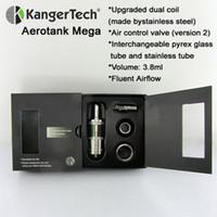 glass products - kanger mega atomizer aerotank mega kangertech product ml ego Airflow control v2 Glass tube ohm ohm resistance