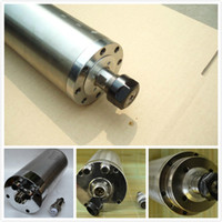 Wholesale One year guaranteed cnc router spindle motor kw AC220V with free ER16 collets fast delivery by EMS DHL FEDEX