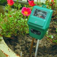 Wholesale 3 in1 Plant Flowers Soil Moisture Light PH Meter Tester in Garden Light Luxmeter amp PH Meter Soil Moisture Tester H481