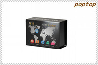 Cheap wholesale 2014 newest popular gsm gps tracker N11 compatible with android and iphone 1 year warranty factory price