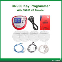 Cheap Professional new arrival cn900 auto key programmer CN900 with 4D box key copy tool for transponder chip key copy free shipping