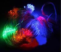 led christmas net lights - 2014 Colorfull Net Light Curtain Lights light modes Mini Fairy Flash Lights LED Lighting Strings wedding Christmas Decoration