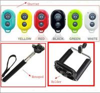 Cheap Extendable Handheld Self-Timer selfprotrait Monopod selfie stick Photograph Bluetooth Shutter Camera Remote Control camera cellphone Holder
