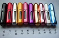 Wholesale Good quality Mini Travel Refillable Empty Atomizer Spray Perfume Bottles Easy Fill Mini Size ml