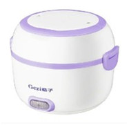 Wholesale electric heating lunch box v v portable heated lunch pot mini rice cooker vacuum food seal bento box