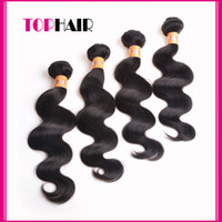 Wholesale Return Guarantee a Indian Virgin Hair Body Wave Indian Hair Virgin Human Hair Weave inch Dyeable