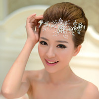 Cheap Free Shipping Crystal Hairbands Wedding Headband Wedding Accessory Bridal Jewelry Hair Accessories Wholesale