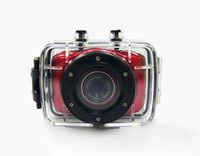 Wholesale Sports DVR Helmet Waterproof Camera HD Action Camera Sport Outdoor mini Camcorder DV hot digital video cameras