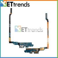 Wholesale For Samsung Galaxy S4 I337 M919 Charging Port Flex Cable Ribbon Repair Parts Replacement AB0480 BY DHL