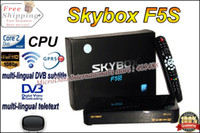 Wholesale DVB S2 Standard Original Skybox F5S multi lingual DVB subtitle and teletext with HD full p VFD Display satellite receiver