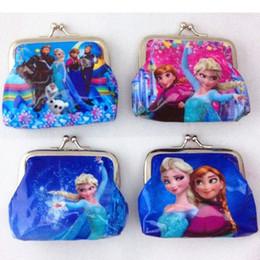 100pcs lot Children ice colors coin purses wallet Material PVC woman Coin Purses