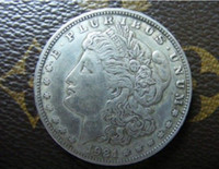 antique dollar - 1921 D Morgan One Dollar Coin