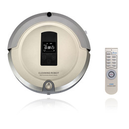 Wholesale AmTidy A325 Multifunction Intelligent Robot Vacuum Cleaner with Sweep Vacuum Mop Sterilize LCD Touch Screen Schedule Self charge H10252