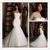 Hot Sale Cheap 2014 Collection Sweetheart Mermaid Wedding Dr...