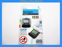 Cheap Free DHL 50pcs Ipega Backlight Digital Breath Alcohol Tester Analyzer With Light For Samsung I9300 S3 S4 HTC One M7 Sony L36H