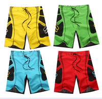 Wholesale Men s Board Shorts Surf Trunks Swimwear with Twin Micro Fiber Boardshorts Beach Short Colorful Plus Size Shorts