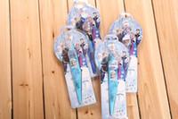 Wholesale Stationery Pans for School Student Frozen Birthday Gift for Kids Frozen Fan Battery Fan