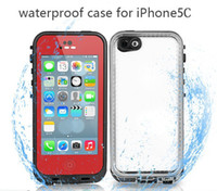 Wholesale Original C Waterproof Case Shockproof Case for iPhone C Style Your Life Phone Redpepper Cases DHL Shipping