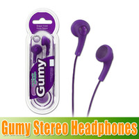 Best 8 colors Stereo Gumy HA F150 HA- F150 earphone with reta...