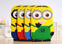 3D Despicable Me Soft Silicone Gel Rubber Case Cover Cute Sm...