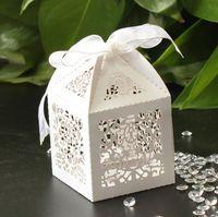 Cheap Favor Boxes wedding favor box Best White Paper candy box