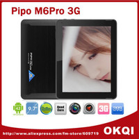 Wholesale Stock Pipo M6 pro G Quad core tablet pc Android RK3188 GHz inch IPS Retina x1536 GB GB GPS Bluetooth MP D