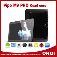 Wholesale Pipo M9 M9 Pro G Quad Core RK3188 GHz inch GPS Tablet PC Retina Screen G RAM GB Android Dual Cam WCDMA Bluetooth