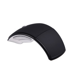 Wholesale 2 Ghz Wireless Optical Foldable Arc Mouse Snap in Transceiver For Laptop Notebook pc C899