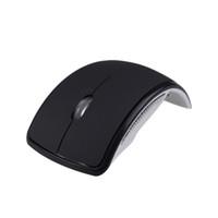 USB Wireless Cordless da 2,4 GHz Arco Pieghevole Pieghevole del Mouse Per il Desktop del computer Portatile Tablet pc C899