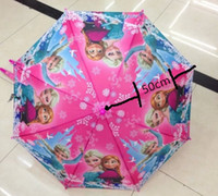 Wholesale Fashion Hot Frozen Umbrella Frozen Princess Elsa amp Anna Children Umbrella cm Frozen Series