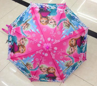 Wholesale Frozen Umbrella Frozen Princess Elsa amp Anna Children Umbrella cm Frozen Series