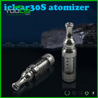 Stainless Steel    2014 Innokin Iclear 30s Clearomizer iclear30s Replaceable Duil Coil Atomizer Itaste Nest Cleartomizer For Itaste VTR