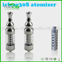 Stainless Steel    Original Innokin Iclear 30s Clearomizer iclear30s Replaceable Duil Coil Atomizer Itaste Nest cleartomizer good quality 6 color