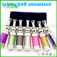 Stainless Steel    2014 Innokin Iclear 30s Clearomizer iclear30s Replaceable Duil Coil Atomizer Itaste Nest cleartomizer colors