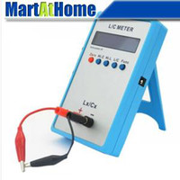 Wholesale High Precision L C Inductance Inductor Capacitance Multimeter Meter LC200A Tool BV291 CF