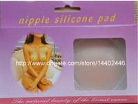 One Size   3000pcs lot 1500pairs Factory price Nipple Silicone Cover Bra Pad Skin Adhesive Nipple Sticker Silicone Bra Reusable