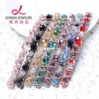 Wholesale Korean version of the irregular crystal hair accessories handmade beaded hairpin spring Yiwu dollar store explosion models stall D37