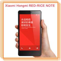 Wholesale New XIAOMI HONGMI RED RICE NOTE MTK6592 Octa Core MP OTG Smartphone Inch mah Cellphone Mobilephone