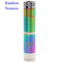 Cheap Nemesis metal full mechanical mod e ecig mods copper stingray copper in color nemesis mod electronic cigarette clone mods kayfun ithaka oddy